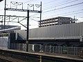 Shinkansen Noise barrier(height duralumin type) installation work.jpg