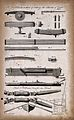 Ship-building; staves, oars, and a rowing-boat. Engraving. Wellcome V0024362EL.jpg