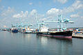 Ships, Cranes in Yellow Bluff, Jacksonville.jpg