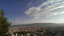 Panoramica di Shiraz-2013