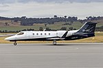 Shortstop Jet Charter (VH-OVX) Learjet 31A-ER at Wagga Wagga Airport (7).jpg
