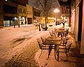 Sidewalk Seating in the Snow.jpg