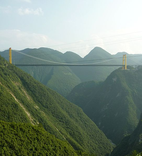 The Si Du River Bridge