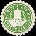 Siegelmarke Der Magistrat zu Loebau-Westpreussen W0314443.jpg
