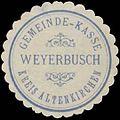 Siegelmarke Gemeinde-Kasse Weyerbusch Kreis Altenkirchen W0387056.jpg