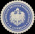Siegelmarke K. Deutsche Gesandtschaft in Luxemburg W0345082.jpg