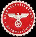Siegelmarke Reichsarbeitsdienst - Reichsleitung W0249407.jpg
