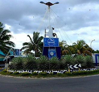 Sigatoka - Sigatoka welcome sign.