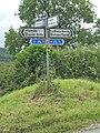 Signpost at crossroads - geograph.org.uk - 872190.jpg