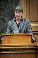 Sigridur Anna thordardottir, ordforande for Islands delegation till Nordiska radet, talar vid sessionen i Kopenhamn 2006.jpg