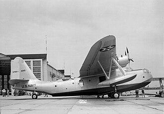 Sikorsky VS-44 - The XPBS-1 patrol bomber, BuNo 9995, circa 1938.