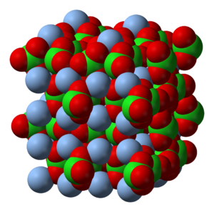 Silver chlorate - Image: Silver chlorate 3D vd W
