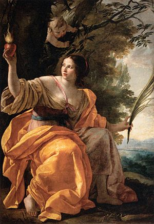 Simon Vouet - Heavenly Charity