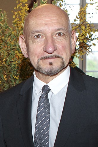 40th Saturn Awards - Sir Ben Kingsley received the Best Supporting Actor award for Iron Man 3.