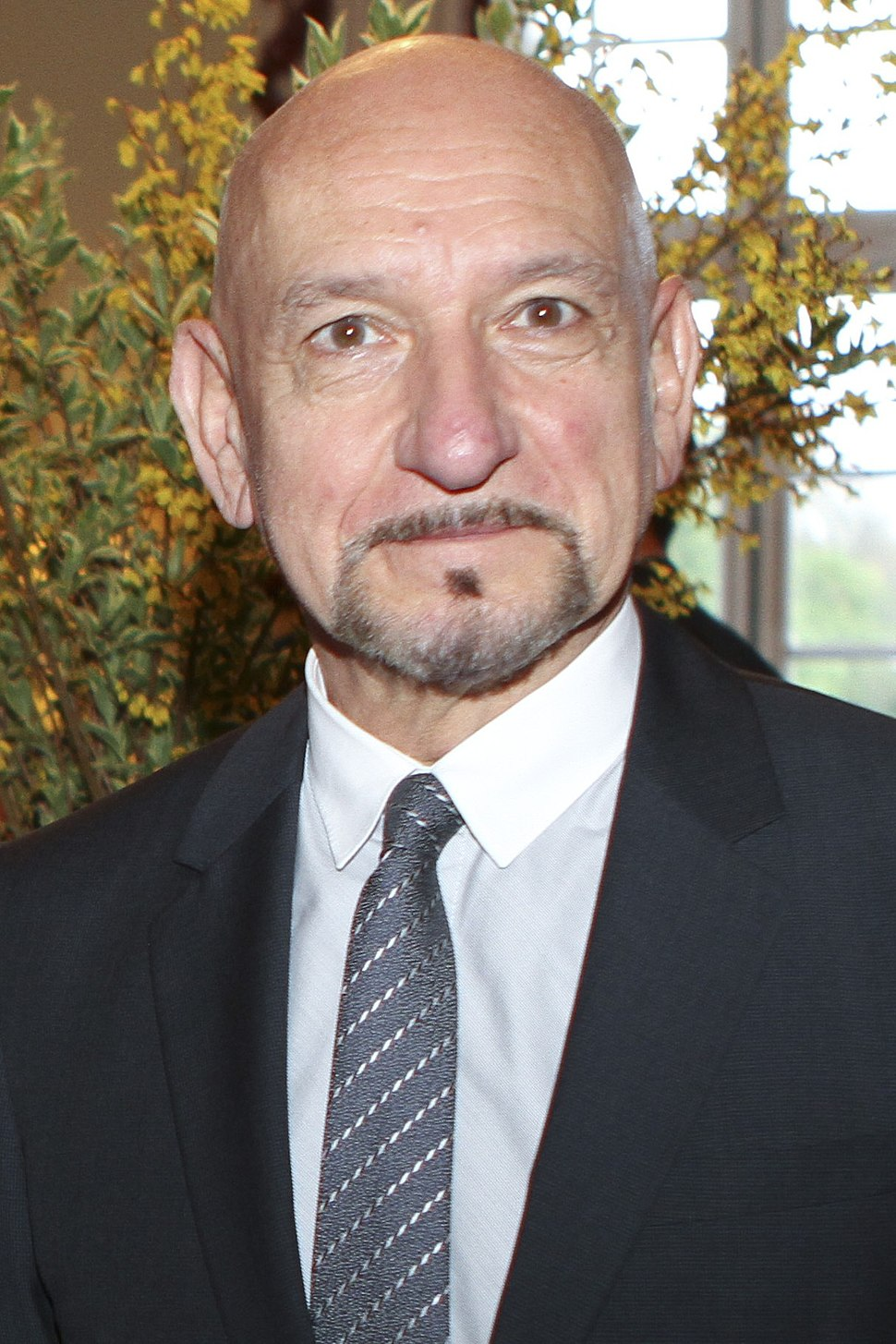 Photo of Ben Kingsley at the 2008 Tribeca Film Festival.