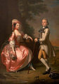 Sir John Pole, 5th Baronet, and his Wife, Elizabeth, 1755.jpg