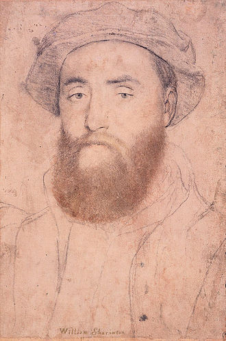 Lacock Abbey (monastery) - William Sharington by Hans Holbein the Younger