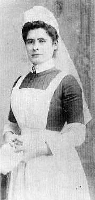 St Bernard's Hospital - Image: Sister Constance Worthington