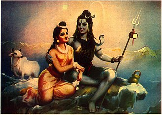 Parvati - Siva Parvathi