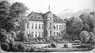 Bernstorff Palace - Ferdinand Richardt:Bernstorff Palace in 1967