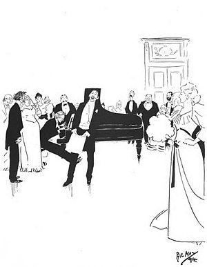 Ciro Pinsuti - Image: Sketch by Phil May