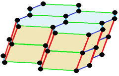 Skew hexagonal prism honeycomb