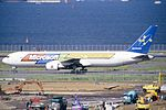 Sky Mark Airlines Boeing 767-3Q8ER (JA767B-27617-722) (15938906019).jpg