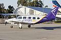 Smart Air (VH-KMW) Piper PA-31-310 Navajo B taxiing at Wagga Wagga Airport.jpg