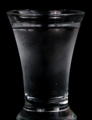 Smirnoff - Smirnoff vodka in a shot glass