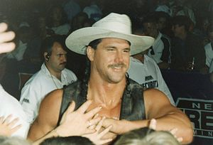 The Smoking Gunns - Bart Gunn in his cowboy attire.