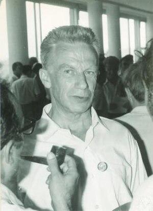 Sergei Sobolev - Sergei L. Sobolev in Nice in 1970