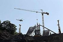 Sochi ski jumps under construction.jpeg