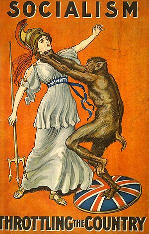 English: Conservative Party poster from 1909, ...