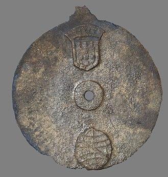Mariner's astrolabe - Image: Sodre Astrolabe 1503