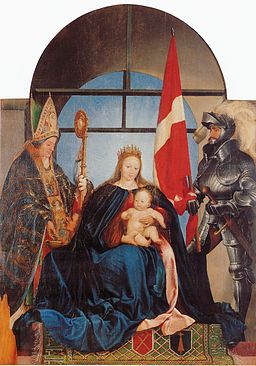 Solothurn Madonna, by Hans Holbein the Younger