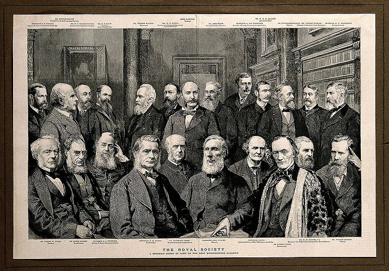 File:Some Fellows of the Royal Society Wellcome V0006745.jpg