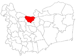 Location of Somova