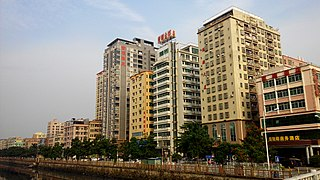 Baoan District District in Guangdong, Peoples Republic of China