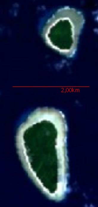 Sonsorol - NASA Satellite Imagery Sonsorol Islands (Fanna and Sonsorol)