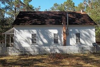 National Register of Historic Places listings in Wakulla County, Florida - Image: Sopchoppy FL Mount Beasor Primitive Baptist Church 01