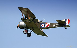 Battle of the Ancre Heights - Image: Sopwith 1 2 1 Strutter 2006
