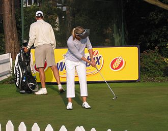 Annika Sörenstam - Sörenstam at the Women's British Open 2004