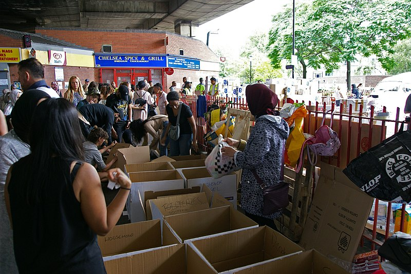 Sorting donations for Grenfell Tower fire victims.jpg