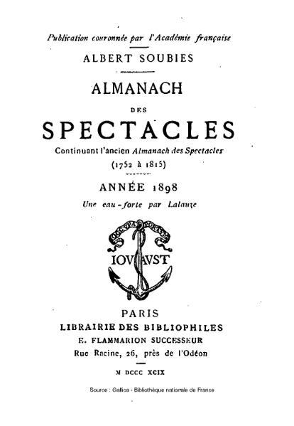 File:Soubies - Almanach des spectacles, 1898.djvu
