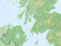 Southern Scotland and Northern Ireland relief map.png
