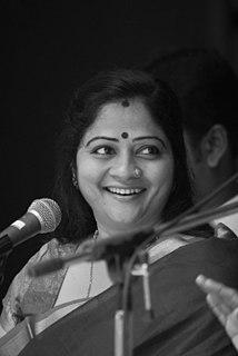 S. Sowmya Indian singer