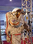 Space suits in Memorial Museum of Cosmonautics, Moscow, Russia, 2016 40.jpg