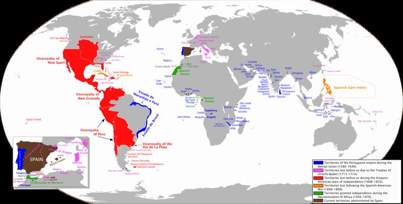 Spanish Empire Anachronous