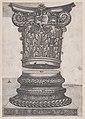 Speculum Romanae Magnificentiae- Decorated capital and base MET DP870195.jpg