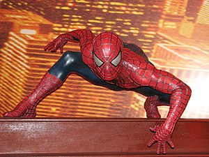 Spiderman (Madame Tussauds London).